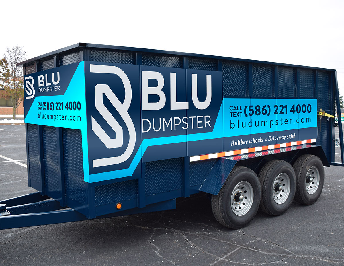Dumpster Rental in St Clair Shores - Rubber Wheel Dumpsters
